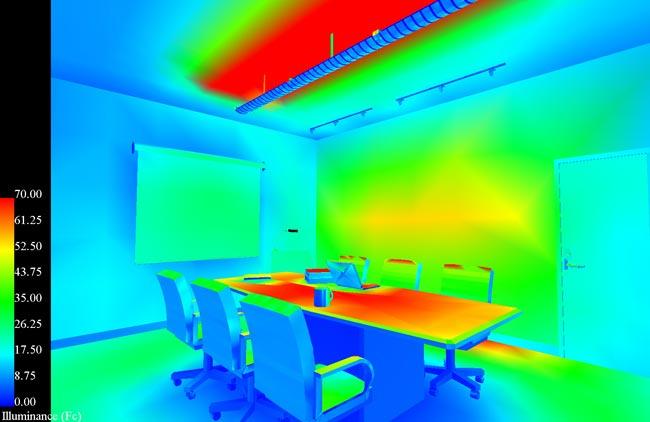 FALSE COLOR RENDERING & False Color Rendering - Lighting Application - Qualitative ...