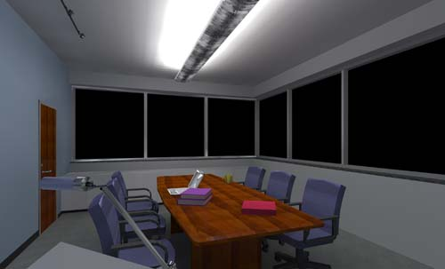 Conference Room   Lighting Distribution