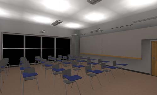 Classroom Lighting Design : Lighting application design distribution sytem