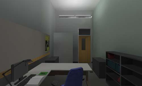 Semi Indirect Office.