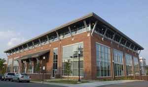 The Gatewood Studio Arts building on the UNCG campus.