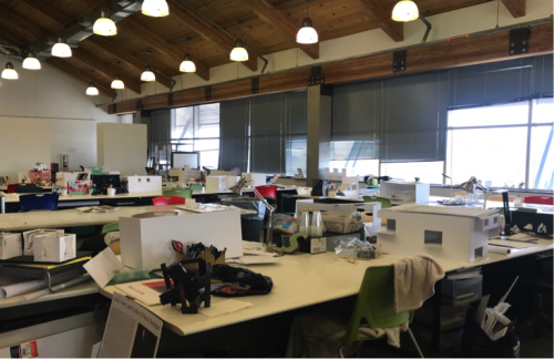 Gatewood Studio Student Work Space